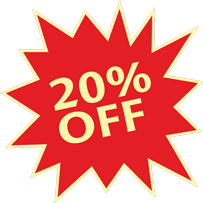 Click here to get 20% Off